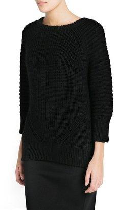 MANGO Outlet Premium - Mohair Wool-Blend Sweater