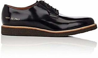 Common Projects Men's Wedge-Sole Derbys - Black
