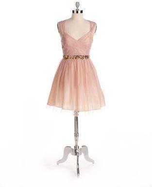 HAILEY LOGAN Sequined Glitter Dress