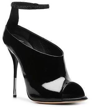 Giuseppe Zanotti Patent Leather Peep Toe Bootie