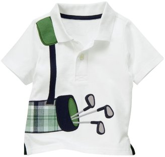 Gymboree Golf Clubs Polo Shirt