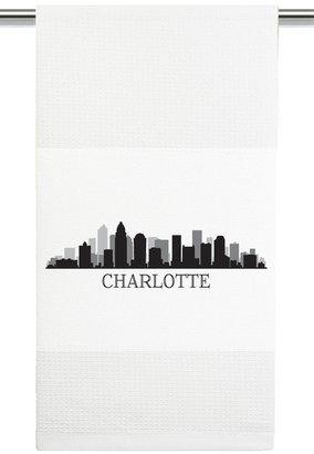 Mariasch Studios Charlotte Skyline Kitchen Towel