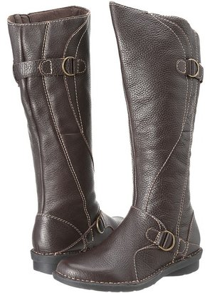 Clarks Nikki Midtown (Brown Tumbled Leather) - Footwear
