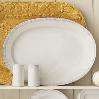 Sur La Table Pearl Oval Serving Platter
