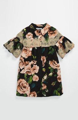 Dolce & Gabbana Floral & Lace Coat (Little Girls & Big Girls)