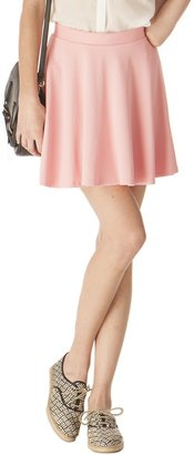 Pink Mascara Flirty Ponti Skirt