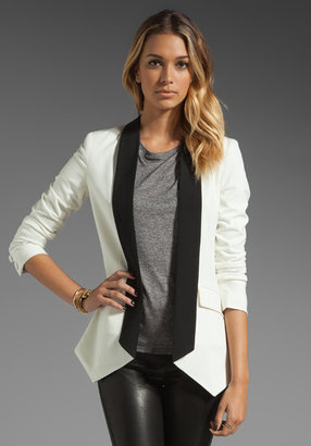 Mason by Michelle Mason Contrast Collar Jacket
