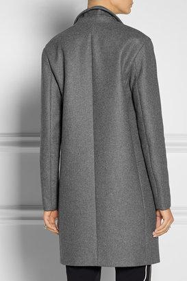 Theory Elizabeth wool-blend felt coat