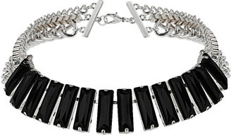 Topshop Black Stone and Mixed Chain