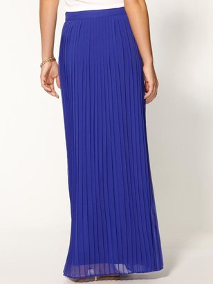 Rachel Zoe Sabine Pleated Maxi Skirt