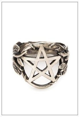 Pamela Love Pentagram Ring in Sterling Silver