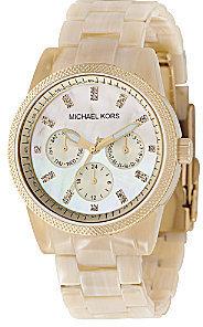 Michael Kors Horn-Bracelet Watch