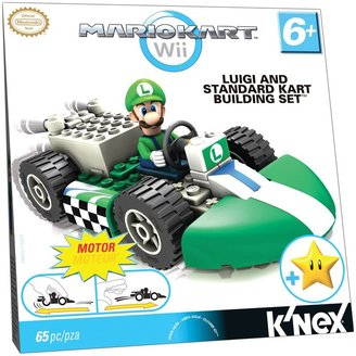 Nintendo K'NEX Luigi and Standard Kart Building Set (65 pc)