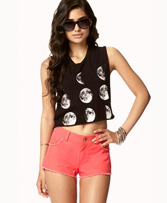 Forever 21 Studded Cut Offs