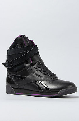 Reebok The Alicia Keys x Dubble Bubble FS Sneaker in Reptile Black
