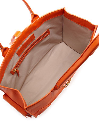 Foley + Corinna Simpatico East-West Tote Bag, Clementine