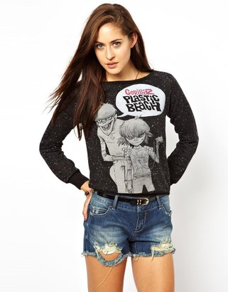Amplified Gorillaz Plastic Beach Sweatshirt