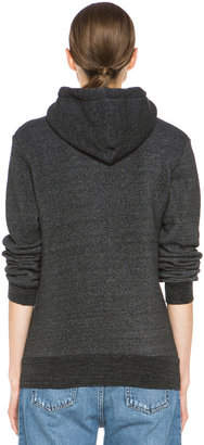 Rodarte 3D Poly-Blend Heart Hoodie in Charcoal