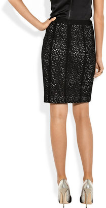 DKNY Stretch-lace pencil skirt