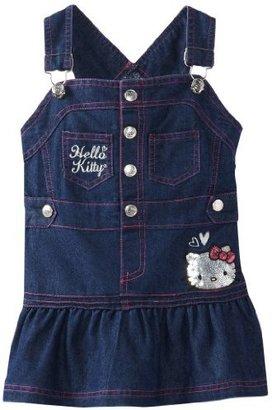 Hello Kitty Girls 2-6X Chambray Dress