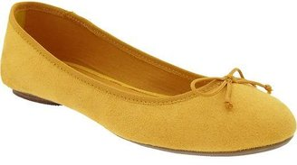 Old Navy Women's Sueded Ballet Flats
