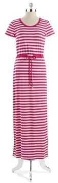 MICHAEL Michael Kors Striped Maxi Dress