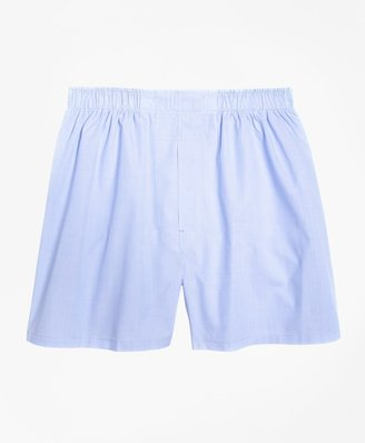 Brooks Brothers Traditional Fit End-on-End Boxers