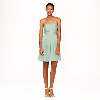 J.Crew Tall Arabelle dress in silk chiffon