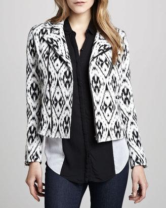Erin Fetherston Eva Ikat-Print Jacket