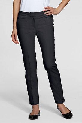 Lands' End Women's Regular Pre-hemmed 4-way Stretch Twill Pants