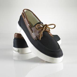 Polo Ralph Lauren Rylander Canvas Boat Shoe