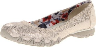 Skechers Women's Bikers-Metal Lace Skimmer
