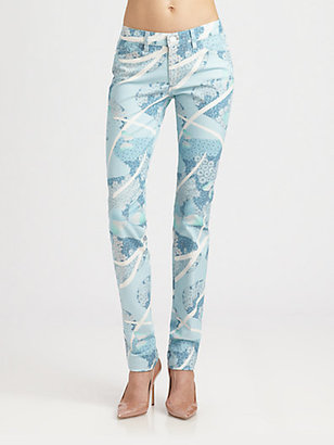 Band Of Outsiders Butterfly Daydream Skinny Jeans