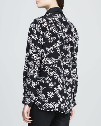 Marc by Marc Jacobs Rae Rae Floral-Print Blouse