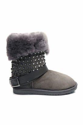 Koolaburra Taylor Studded Boots in Grey