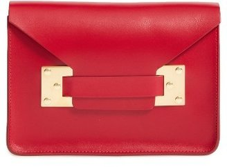 Sophie Hulme 'Mini' Envelope Leather Bag - Red $465 thestylecure.com