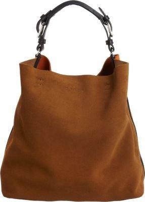 Marni Tricolor Suede Hobo Bag
