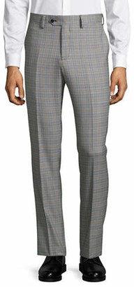 HAIGHT & ASHBURY Wool Flat-Front Pants