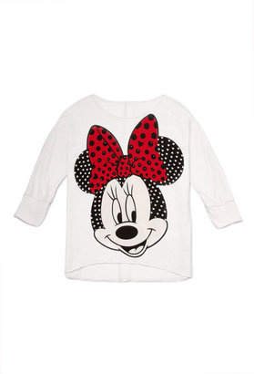 Forever 21 girls Sparkling Minnie Mouse Top (Kids)