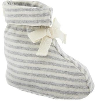 Gap Organic stripe booties
