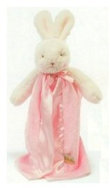 Bunnies by the Bay Bye Bye Buddy Blanket - Blossom