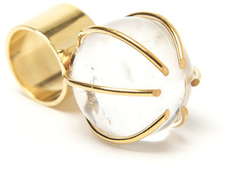Kelly Wearstler Quartz Prong Cocktail Ring