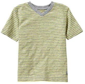 Gap Striped V-neck T