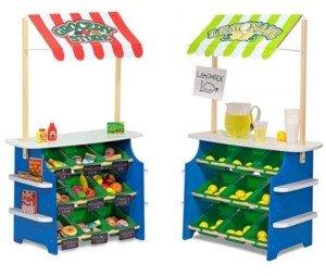 Melissa & Doug Grocery Store and Lemonade Stand
