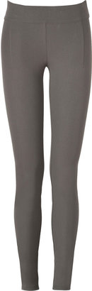 Helmut Lang Mudstone Stretch Cotton Core Legging