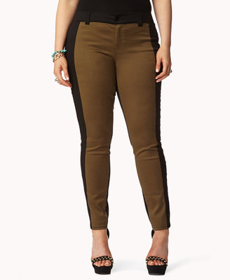 Forever 21 FOREVER 21+ Contrast Colored Skinnies