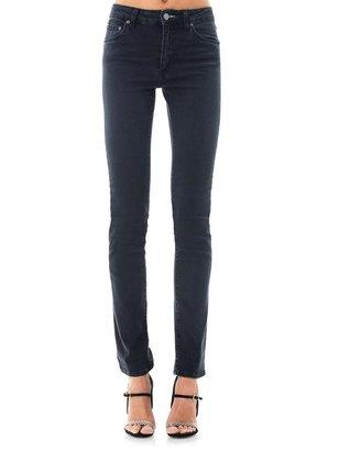 Acne Needle high-rise straight-leg jeans