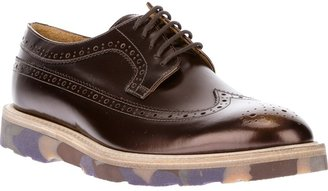 Paul Smith metallic brogue