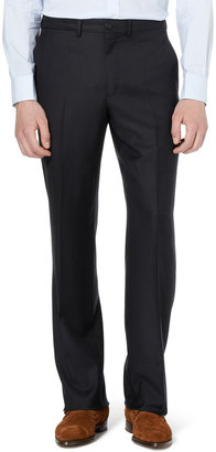 Alfred Dunhill Navy Wool-Twill Suit