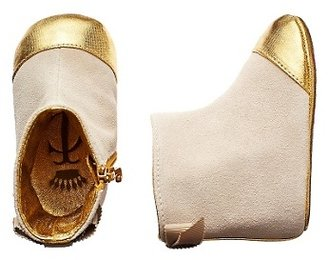 Juicy Couture Metallic Suede Bootie